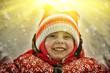 Beautiful happy kid