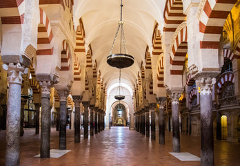 Cordoba, Spain. The Great Mosque (currently Catholic cathedral)