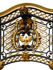 Gate near the Royal Buckingham Palace