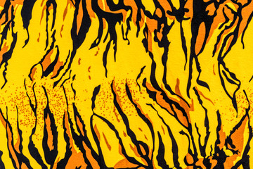 texture of tiger pelt and fur