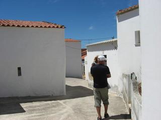 White houses wall,Portugal