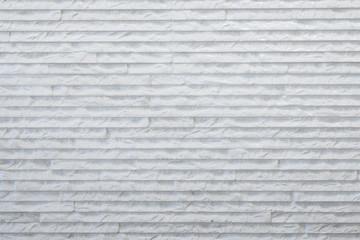 White rough stone wall
