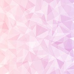 abstract background of geometric polygon pastel color