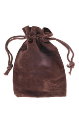 Brown pouch