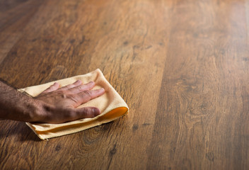 Hardwood floor manteinance