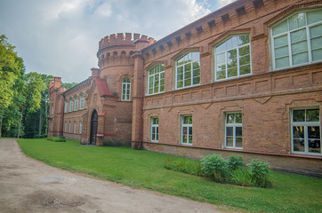 Castle in Raudone, Lithuania