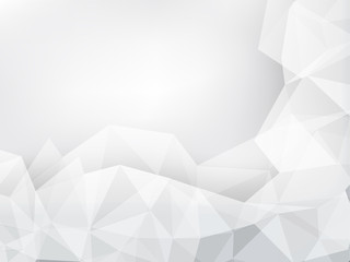 geometric abstract background of gray color wth space
