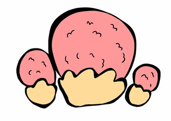 doodle mushrooms