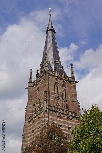 Leinwanddruck Bild Kath. Pfarrkirche St. Lambertus in ERKELENZ