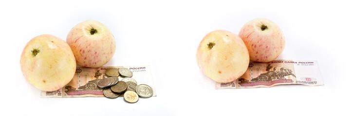 Fruits cheaper