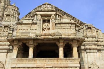 Facade of Meera Temple