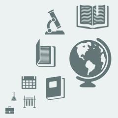 Background for design elements education