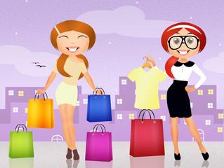 personal shopper girl