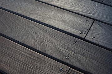dark brown wooden floor