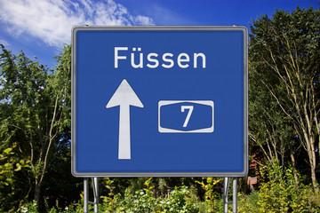 A7 Richtung Füssen