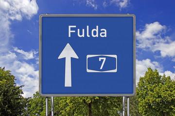 A7 Richtung Fulda