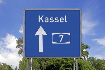 A7 Richtung Kassel