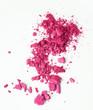 canvas print picture - pinker Lidschatten
