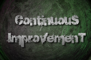 Continuous Improvement Concept