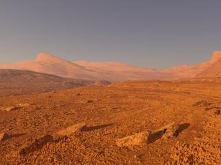 Panorama marziano
