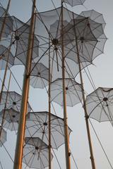 Umbrellas in the sky 2