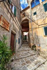 Elba Island - old town in Marciana
