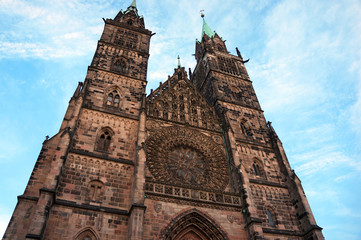 Cathedral of St. Lorenz in Nuremberg