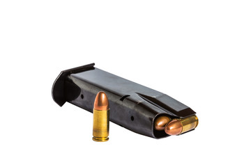 handgun bullets magazine