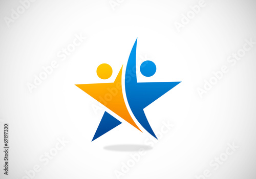 star success partner vector logo - 69197330