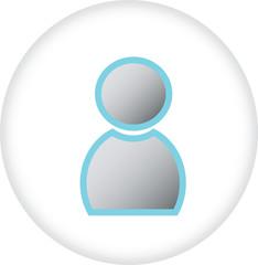 User sign icon symbol