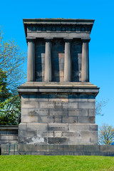 National Monument in Calton Hill, Edinburgh, Scotland
