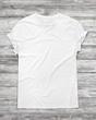 Leinwandbild Motiv white t-shirt