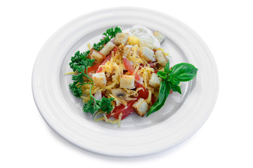 delicious diet vegetarian salad
