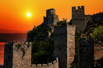 Medieval fortified town