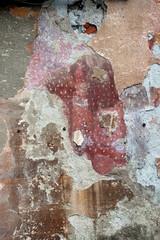 Female portrait on a wall