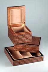 scatole di legno