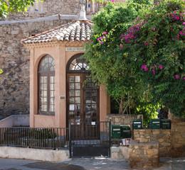 Bibliothek in Calvi