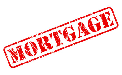 Mortgage red stamp text