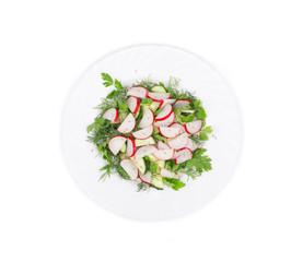 Radish salad.