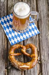 Brezel, Bier, Oktoberfest, Volksfest
