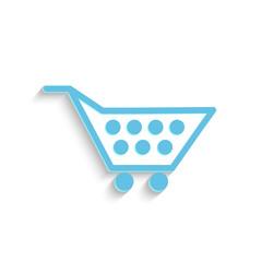 Shopping Cart, Vector Illustration