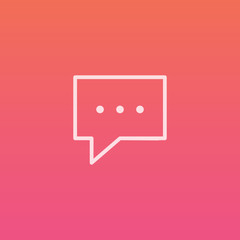 Message  - Finely crafted line icons