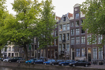 Amsterdam, Netherlands. Typical urban view