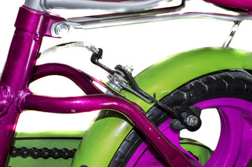 Rear parts of bicycle