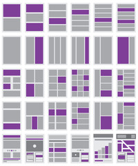 Illustration of Website Flowcharts and Site Maps