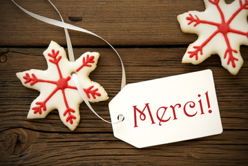 Christmas Star Cookies with Merci