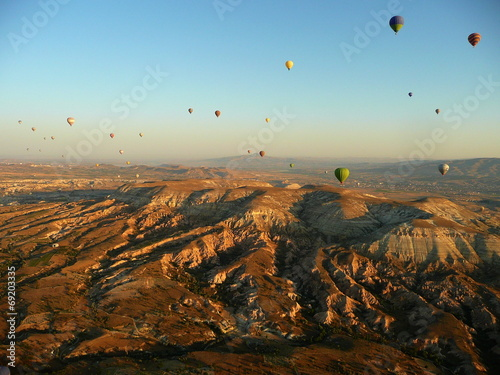 Fototapeta air balloon