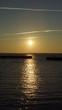 canvas print picture - Sonnenuntergang