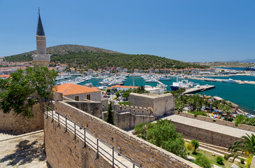 View of Cesme from the castle, Turkey