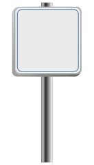 Straßen-Schild für online Shop